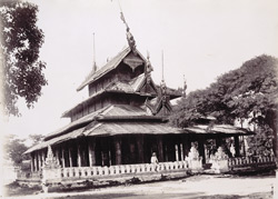The Patan Zayat, [Mandalay]